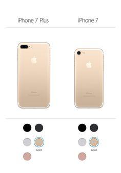iPhone 7 / plus in Gold