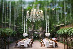 Wedding Reception, Haiku Mill, Flowers: Bella Bloom Floral Boutique - Hawaii Wedding http://caratsandcake.com/anneandthomas