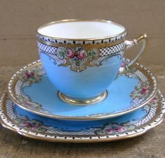 Beautiful vintage china tea cup and saucers. Pin to your board! Beautiful vintage china tea cup and saucers. Pin to your board!