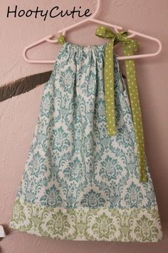 pillow case dress for audrey. 7 please!