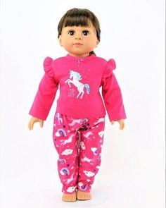 DONUT fits American Girl PURPLE SATIN SHORT PAJAMAS BUNNY SLIPPERS