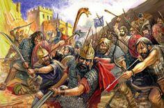 Illustrations of Dacia, Thracia & Phrygia Image Salvage) - Forum - DakkaDakka Ancient Rome, Ancient Art, Ancient History, Tribal Images, Rome Antique, Roman Era, Medieval World, 2017 Images, Historical Art