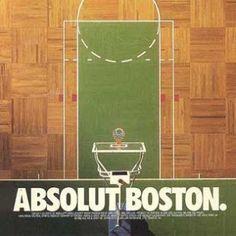 Absolut Boston Garden Celtics Parquet Floor