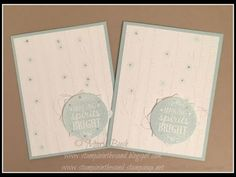 Stampin' in the Sand: Super Simple Sunday: Among The Branches II: Making Spirits Bright http://stampininthesand.blogspot.com/2015/10/super-simple-sunday-among-branches-ii.html #stampinup, #amongthebranches, #woodlandembossingfolder, #supersimplesunday, #stampininthesand