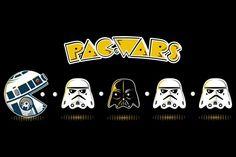 T-shirt: Pac-Wars