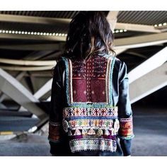 It's all in the details. Love this jacket! Inspiration. #mixandmatch