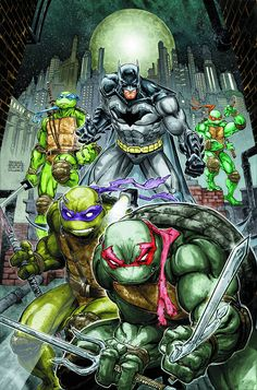 Batman - TMNT (6P Ms)  #1