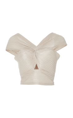 ALICE MCCALL LE GIRL KNOT CROP TOP. #alicemccall #cloth #