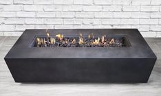 Living Source International Santiago Concrete Propane Gas Fire Pit Table - My Gardening Tips 2019 Propane Fire Pit Table, Gas Fire Pit Table, Diy Fire Pit, Fire Pit Backyard, Gas Fire Pits, Concrete Fire Pits, Outdoor Fire Table, Concrete Backyard, Propane Fireplace