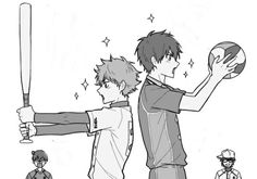 Haikyuu x diamond no ace Cannot tell if this is the best or worst thing ever