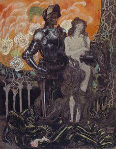 fleurdulys: Jan Toorop, Aurore (1892)