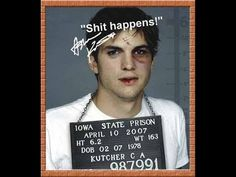 "ASHTON KUTCHER Busted! Naughty wall decoration! Certainly an interesting subject of conversation! Ashton Kutcher had just o n e comment in regard to his arrest: ""Shit happens!""    Questions? SMS me:  (+ 49-151) 2094-9859"