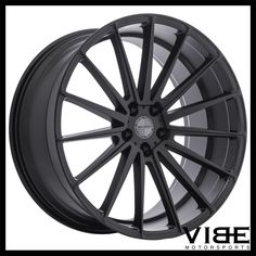 "20"" SPORZA PENTAGON BLACK CONCAVE WHEELS RIMS FITS MASERATI GHIBLI #Sporza #pentagon #wheels #concave #maserati #ghibli #vibemotorsports"