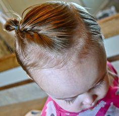 its time for me to get serious about actually doing miriams hair, which is not much like mine. gotta learn how to do it so she doesn't look like a ragamuffin everyday of her life.      Simply Sadie Jane: 15 HAIRSTYLES FOR YOUR BUSY TODDLER!!!