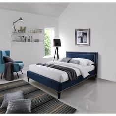 Found it at Wayfair.co.uk - Ocean Upholstered Bed Frame