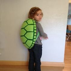Tutorial - Homemade Turtle Costume : The Almost Perfectionist