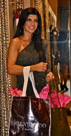 Teresa Giudice of the Real Housewives of New Jersey at Alene Too