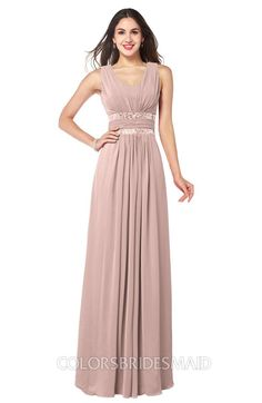 0b38e5477ec ColsBM Kelly Glamorous A-line Zip up Chiffon Sash Plus Size Bridesmaid  Dresses