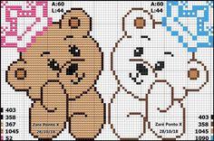 Celtic Cross Stitch, Cross Stitch For Kids, Cross Stitch Baby, Pixel Crochet, Crochet Motif, Unicorn Cross Stitch Pattern, Cross Stitch Patterns, Pixel Art, Crochet Dolls Free Patterns