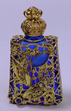 Luxury Vintage Czech Handmade Rhinestones Glass Perfume bottle | Collectibles, Vanity, Perfume & Shaving, Perfumes | eBay!