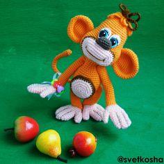 Детеныш-обезьянка - Вязаные чудеса