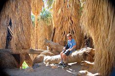 Hiking in Anza Borrego State Desert