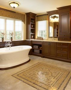 Ensuite Bathroom Regina subtle layering of light and timeless materials creates an airy