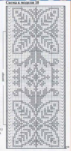 Hand Embroidery Design Patterns, Knit Patterns, Cross Stitch Patterns, Filet Crochet, Crochet Doilies, Crochet Lace, Crochet Table Runner Pattern, Christmas Crochet Patterns, Chrochet