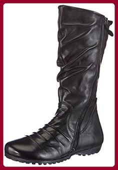 Piazza 980160, Damen Halbschaft Stiefel, Schwarz (schwarz), 38 EU (5