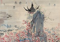 Beauty of Hangzhou captured in paintings Hangzhou is the host city of the 2016 #G20 summit. Chinese painters have deeply loved this wonderful city and captured its beauty in paintings. Here are some charming paintings displaying the willow-lined banks, mist-covered hills and ancient temples of Hangzhou.