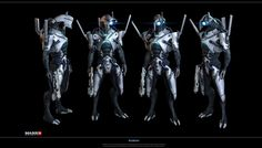 Geth Prime/Hunter – Mass Effect 3