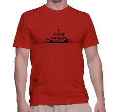 I Love Islam on Red T Shirt