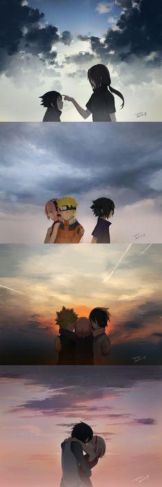 Sasuke through time - Anime Anime Naruto, Kurama Naruto, Kakashi Sensei, Naruto Sasuke Sakura, Naruto Cute, Naruto Funny, Naruto Shippuden Anime, Itachi Uchiha, Wallpapers Naruto