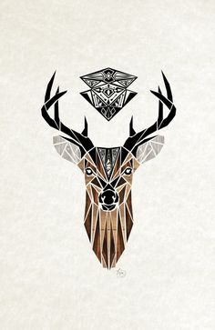 oh deer! by manou art, via Behance