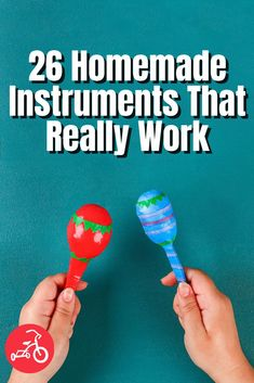 21 Homemade Instruments That Really Work Diy Kid Crafts For Boys, Diy For Kids, Fun Crafts, Homemade Musical Instruments, Project Yourself, Craft Activities, Dollar Stores, Easy Diy, Cool Stuff