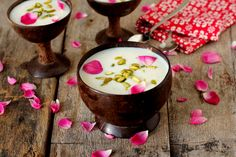 Phirni recipe is a rice and milk based creamy sweet that is flavored with cardamom. It makes for a perfect summer dessert.