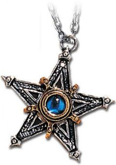 "☆ Medieval Pentangle Pewter Necklace ""By Alchemy Gothic"" :¦: Shop: Gothic Plus ☆"