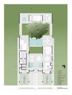 Guazuma House,Plan