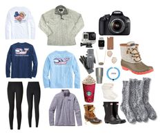 """""""Colorado"""" by gracerickman on Polyvore featuring lululemon, The North Face, Sperry, GoPro, Canon, L.L.Bean, Kendra Scott, Patagonia and Hunter"""