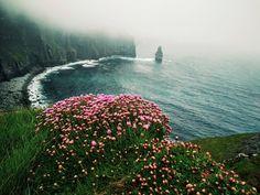 Shittiest weather I had on my vacation last week. Cliffs of Moher Ireland [4160 x 3088] #reddit