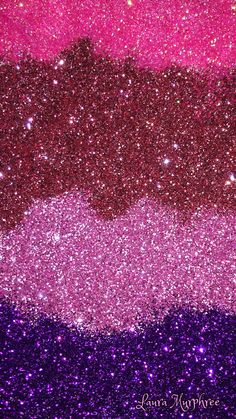 Glitter phone wallpaper
