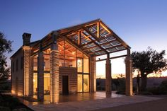 View the full picture gallery of La Scuderia Interior Architecture, Interior And Exterior, Interior Design, Roof Restoration, Industrial Farmhouse, My Dream Home, My House, Outdoor Living, Pergola