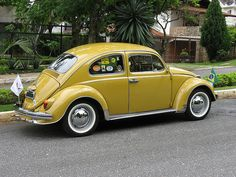 "A Special Yellow Classic Champion ""new"" Old Beetle Brazil VW Volkswagen 1972 Model Best Of Show Winner Original Käfer Maggiolino Volla Coccinelle Weevil Escarabajo Vocho Boble Carocha Fusca Amarelo Sedan 1300 Brasil Carros Antigos"