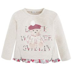 Sweater with print Greys - Mayoral