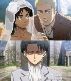 "Erwin: (whispering) ""Now, go up to your future husband and kiss Him like you mean it. Make Him smile. The Joy in His life makes Him smile; and you're His Joy. Now get up there and say 'I Do'""."