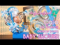 Caja de buenos deseos para Baby Shower - YouTube