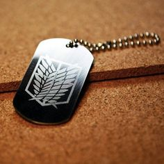 Shingeki no Kyojin/ Attack on Titan Scouting Legion Emblem plate - Fanraro.com