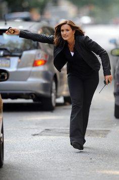 """Olivia Benson in """"Law & Order SVU"""""""