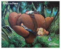 Star Wars: My Neighbor Totoro by James Hance