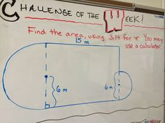 Math challenge of the week for grade math. A new challenge is posted every Monday and students have until the end of the day Thursday to try it. This is for middle school math, but the idea is applicable to any content area or grade level! Math For Kids, Fun Math, Math Activities, Maths, Math Art, Math Fractions, Math Games, Math Teacher, School Classroom